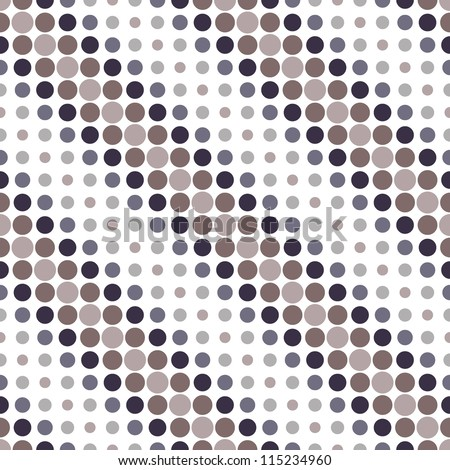 seamless geometric pattern. diagonal dots. vector repeating texture