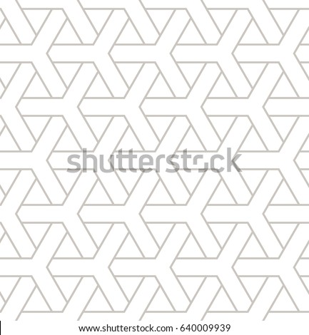Seamless geometric pattern. Geometric simple print with triple elements. Vector repeating texture. Modern hipster swatch. Minimalistic repeating background.
