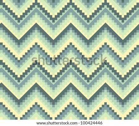 Seamless geometric pattern in ethnic style. More in my portfolio