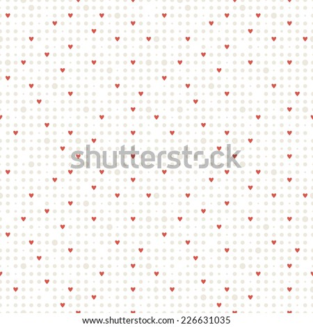 stock-vector-seamless-geometric-pattern-small-subtle-circles-and-fine-red-hearts-vector-repeating-texture-for