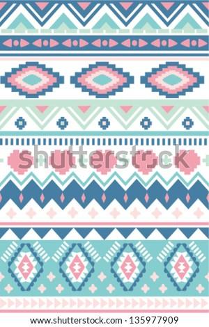 Seamless geometric pattern ,tribe  style background