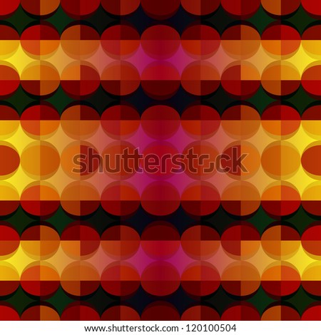 Seamless geometric pattern. Vector. Abstract modern geometric pattern. Background look like patchwork and mosaic. Seamless background can be used for wallpapers, textile, web, surface textures.