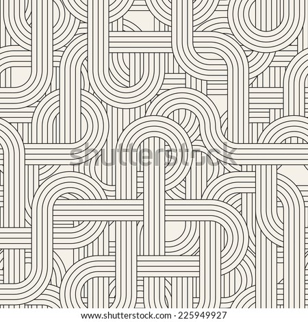 Seamless geometric pattern Vector texture Repeating maze