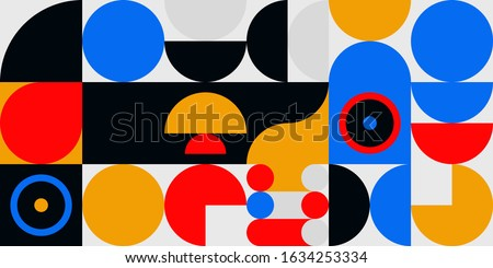 seamless geometric pattern with