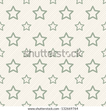 Seamless geometric pattern with stars. Vector repeating texture