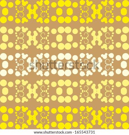 seamless geometric pattern with