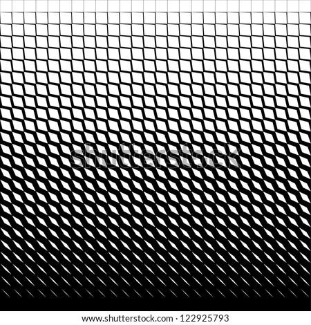 Seamless  geometric rhombus pattern black and white