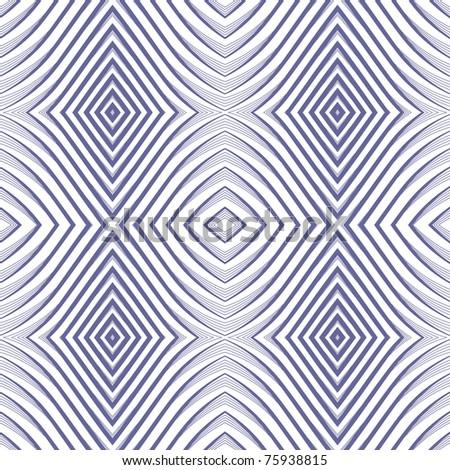 Seamless geometric rhombuses pattern. No gradient. Vector art.