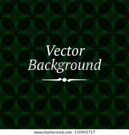 Seamless geometric round pattern background. Vector Illustration