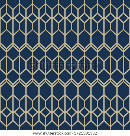 Seamless geometric stylish texture. Classic Art Deco seamless pattern. Abstract retro vector texture. Vintage Islamic wallpaper. Lattice graphic design. Vector modern tiles pattern.