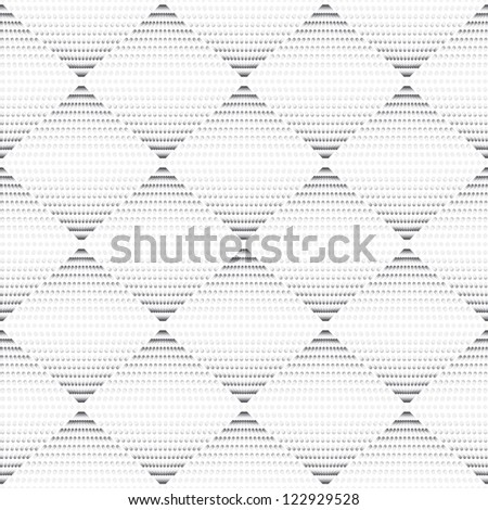 Seamless geometric texture gray pattern with circle