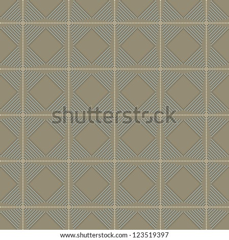 Seamless geometric texture pattern with circle background