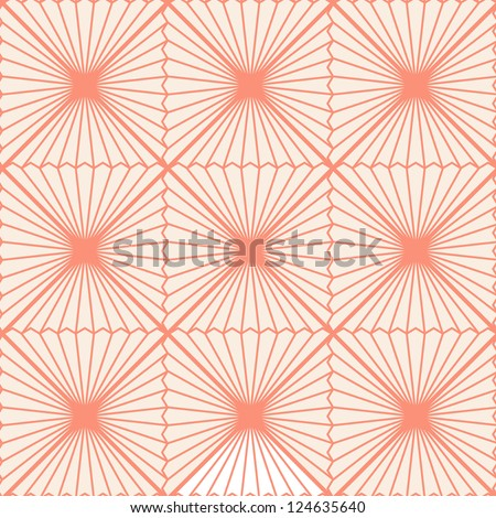 Seamless geometric vector art pattern background