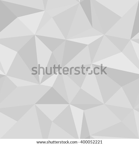 Seamless Geometric Vector gray Background of Triangular Polygons Pattern vector illustration