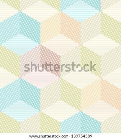 seamless geometrical beige