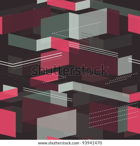 seamless geometrical pattern - vector illustration