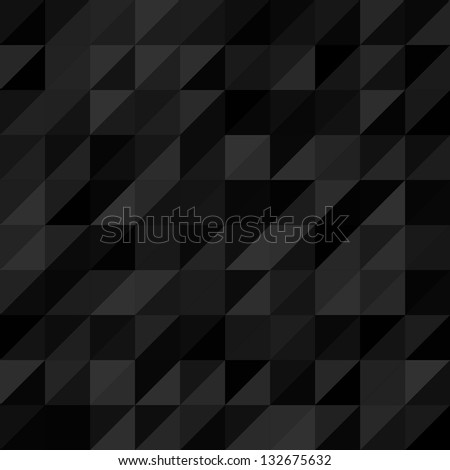 Seamless geometrical vector retro pattern background