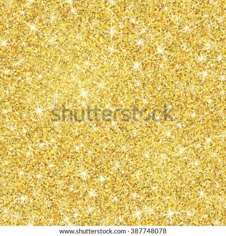 seamless gold glitter texture