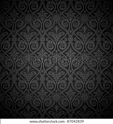 seamless gothic damask