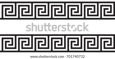Seamless Greek Ornament