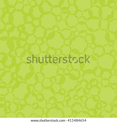 seamless green round bubbles