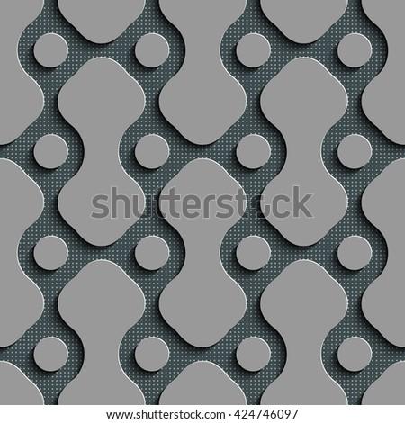 stock vector seamless grid background vector regular texture 424746097 - Каталог — Фотообои «3D Текстуры»