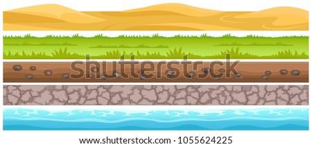 seamless grounds and land