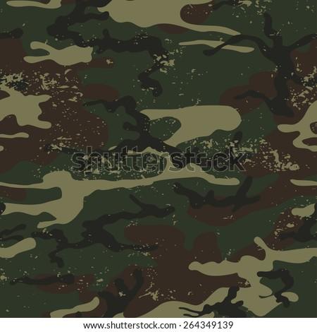 seamless grunge camouflage