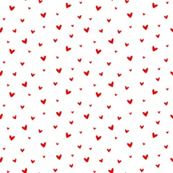 seamless heart pattern and background vector illustration
