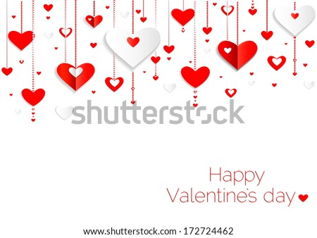 Valentines Day Frame Vector Download Free Vector Art Stock