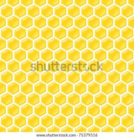 Stock Photo seamless honeycomb pattern