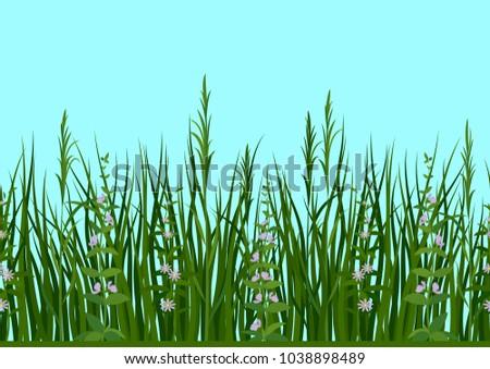 seamless horizontal background