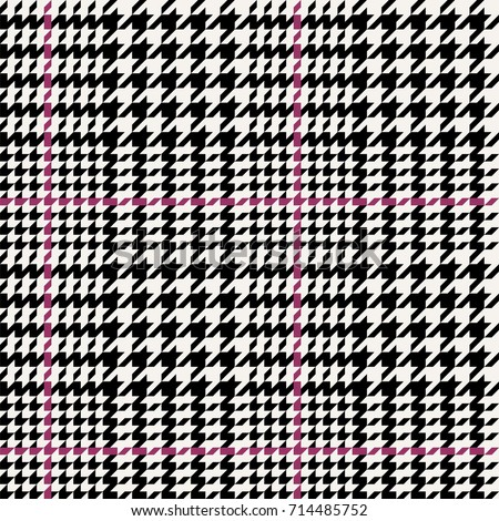 Seamless hounds tooth pattern.