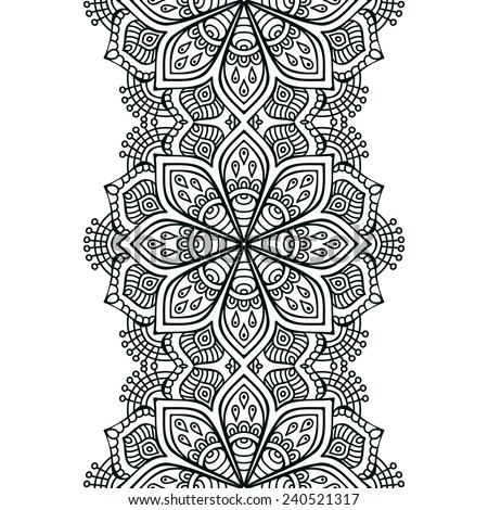 Vector Images Illustrations And Cliparts Seamless Indian Pattern Enchanting Indian Design Patterns