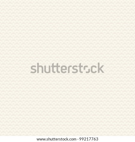 Seamless japanese pattern. Vector wavy delicate background