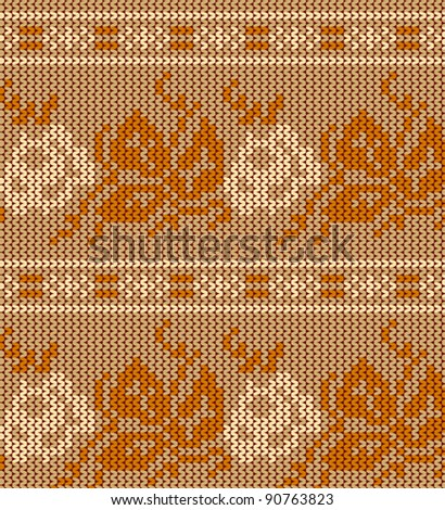 Grandmother's Pattern Book   free knit rose pattern