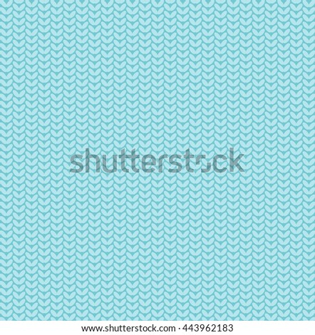 Seamless knitted pattern background