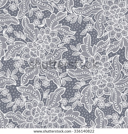 seamless  lace  floral