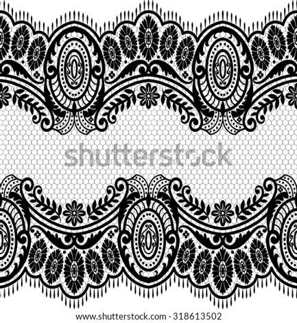 seamless lace pattern  flower