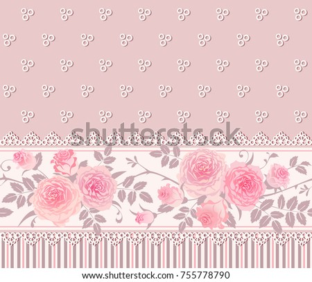 Shabby Chic Style Borders
