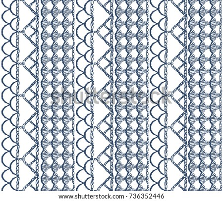 seamless lacy pattern texture