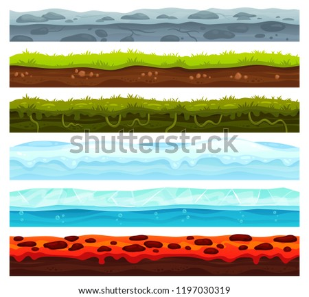seamless land layers dirt