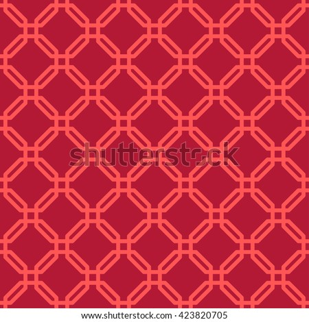 seamless lattice pattern of