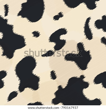 seamless leather texture cow