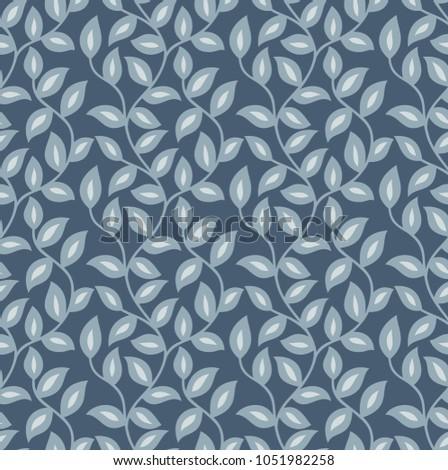 seamless leaves wallpaper