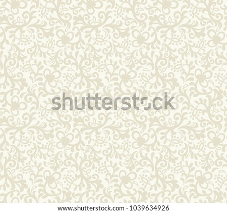 stock-vector-seamless-light-background-with-beige-floral-pattern-vector-retro-illustration-ideal-for-printing