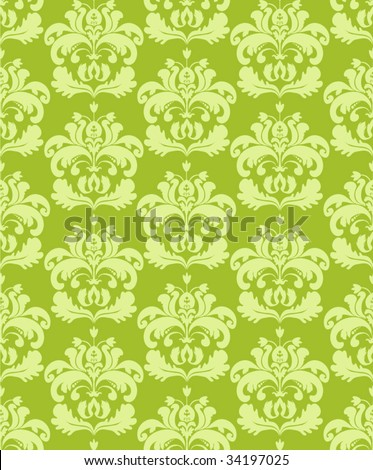 Seamless lime green background
