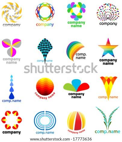 seamless logo set