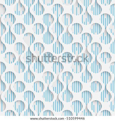seamless luxury pattern 3d