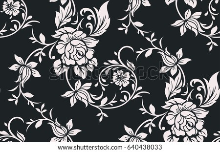 seamless luxury pattern with